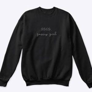 XOXO Gossip Girl Crewneck Sweatshirt